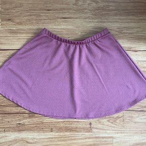 Forever 21 Mauve Circle Skirt